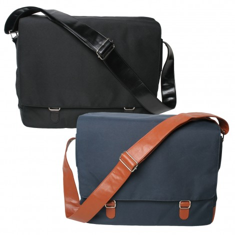 Ouback Messenger Pet Tote, navy and black