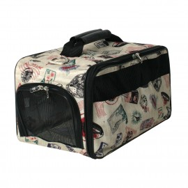 Postage Stamp Classis Pet Carrier